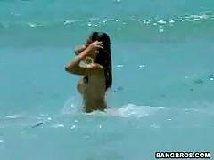 Evie Delatosso - Ball Honeys Beach Honey #11