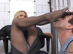 Krissy Lynn - Pantyhose And Foot Fetish