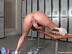 Bree Olson - Naughty Schoolgirl Teasing And Toying