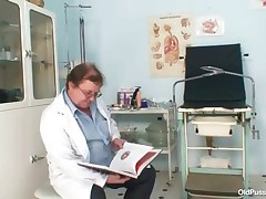 Agnesa - Big Tits Milf Agnesa Perverted Pussy Examination
