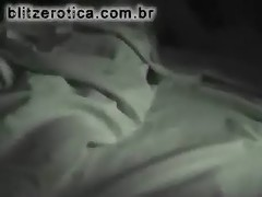 SpyCam - Filming his girlfriend sleeping in panties