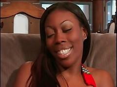 Diamond Rene Takes 2 Big Dickheads @ Once