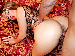 Sex crazy slut Mone gets her fill by fucking the teacher