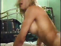 Blonde Milf Taking on Ebony Penis