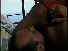 Nici Sterling Sits On Boyfriend's Face