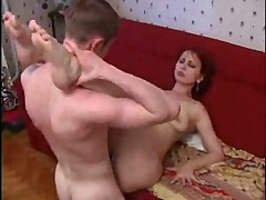 Red head russian mature mom