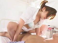Japanese nurse fuck with patient in hospital