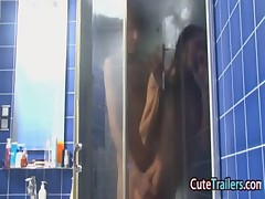 Ivanas anus movie in the shower