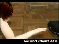 3D Teacher on Schoolgirl!