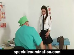Schoolgirl's medical examination