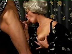 Granny Fucking a Younger Guy
