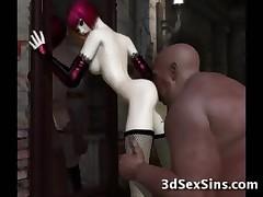 3D Ogres Cum On Babes!