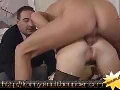 German Fisting anal deep