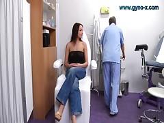 Emma visits her gyno Doctor