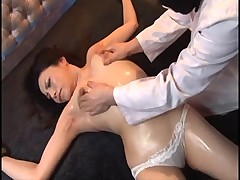 Japanese women tied and being molested reluctantly