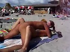 Sex at the public beach