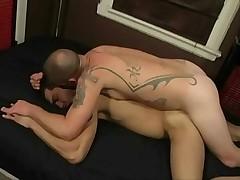 gay Jacob Slader breeds bordello boy Sage Daniels