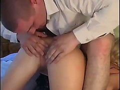 Russian mature in stockings