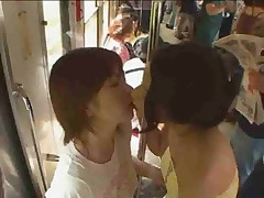 Sluts On A Train