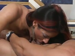 Nice shemale anal sex
