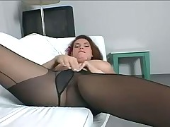 Nice girl playing with her pussy