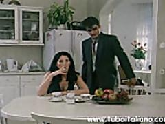 Italian Brunette Wife Fucked Moglie
