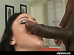 Cute Teen Latin Rides Black Cock