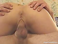 HomegrownVideos - Attractive Amateur Couple Sex Video