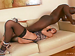 Xandy interracial anal