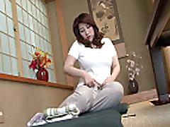 Mosaic: Japanese Fat Mature Lady Masterbeted