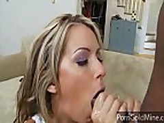 Courtney Cummz fucks a huge black cock