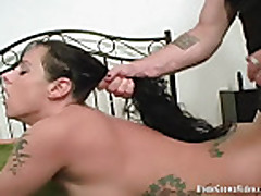 HomegrownVideos - Moxxie Maddron Takes It Hard In The Ass