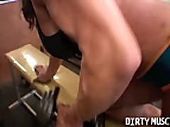 Sexy Latina Big Clit Workout