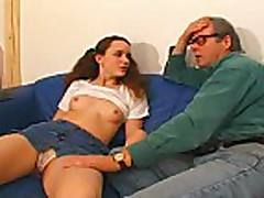 Older guy does Veronika w.anal