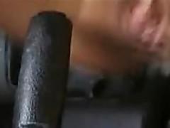 Piss: Girl Fucks Gearstick Handbrake inc. Anal And Piss
